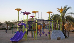aqaba beach playground