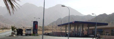 Petrol Station in Jordan