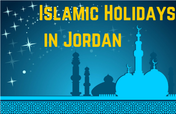 Islamic holidays in Jordan