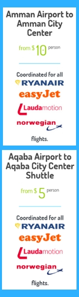 Amman Airport Shuttle, Aqaba Airport Shuttle