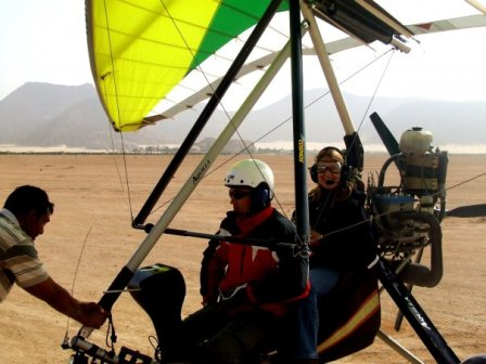 Wadi Rum Microlight Flight Slideshow